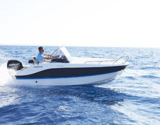 Activ 455 Open прогулочный катер в компактном размере