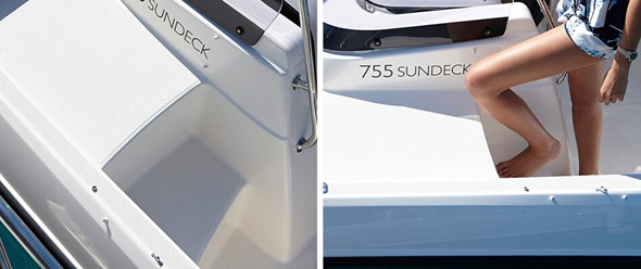 Activ 755 Sundeck прогулочный катер с каютой